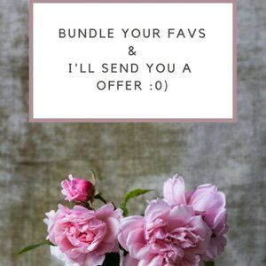 DONT BE SHY :0) Send those offers... I LoVE offers